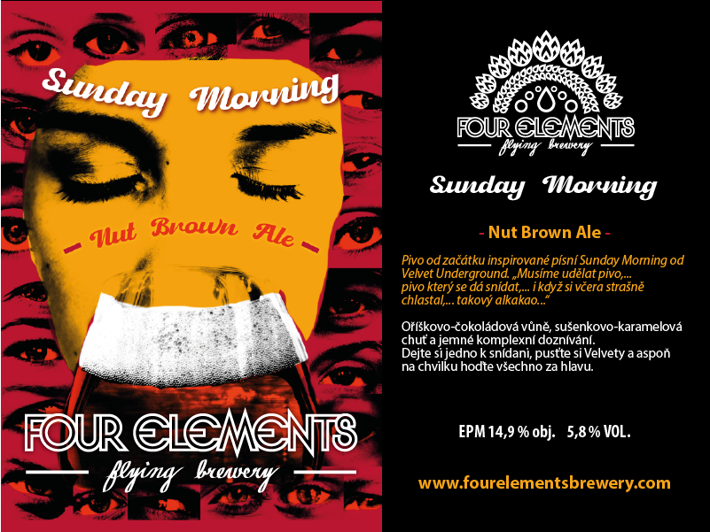 Sunday Morning / -Nut Brown Ale- /Four Elements Brewery